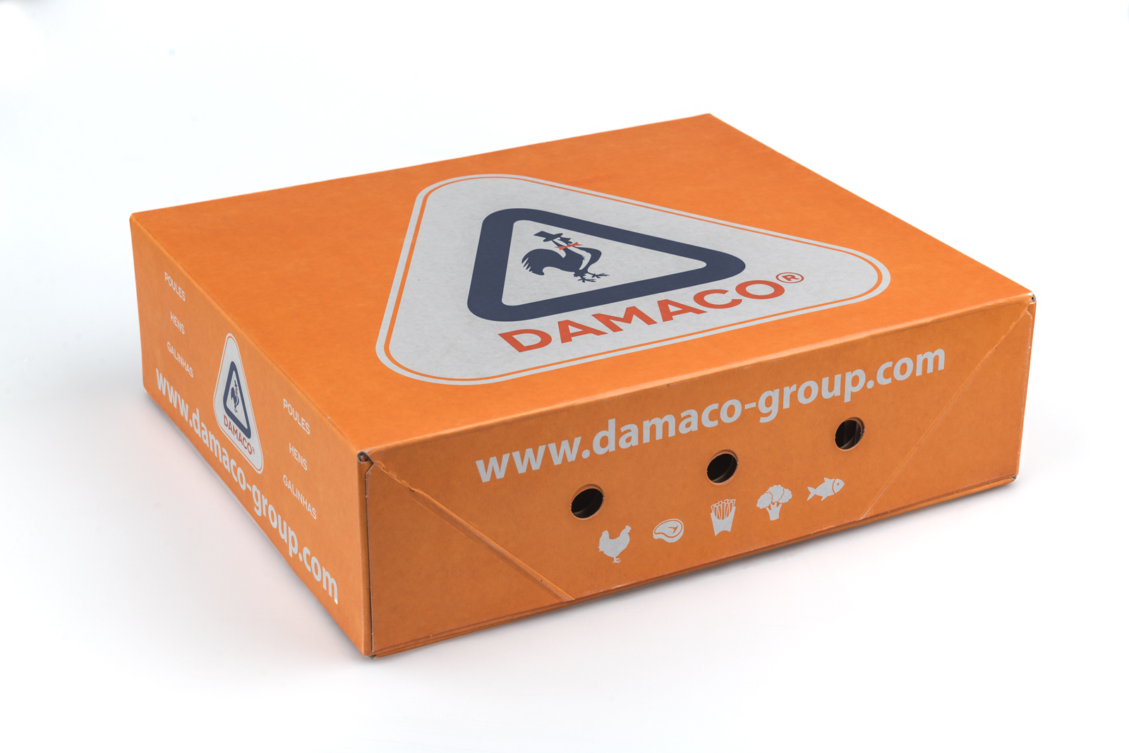 10kg Cartons Damaco packaging