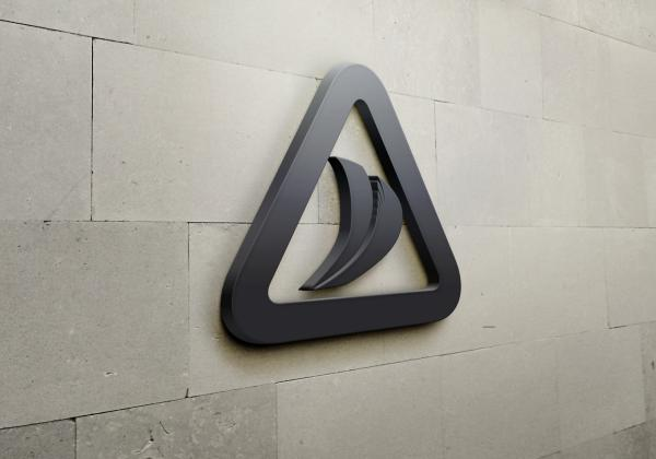 Logo Damaco Group on wall