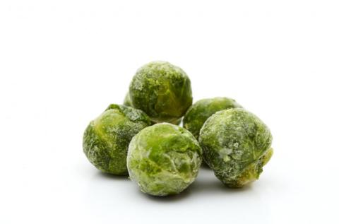 Frozen Brussels Sprouts 25-30 or 30-35mm Diameter A Grade Damaco Brand