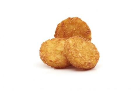 hash brown round potato products bistro belgique brand