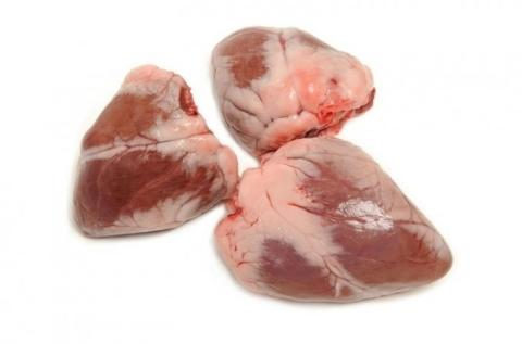 Frozen Lamb or Sheep Hearts A Grade Various Brands