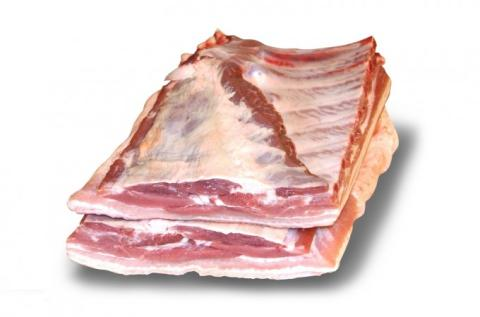 Frozen Pork Bellies Deli, A or B Quality Single or Sheet Ribbed With or Without Rind Various Brands
