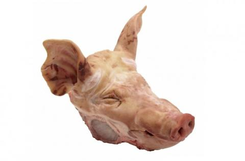 Frozen Pork Heads Whole or Half A Grade Various Brands