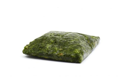 Frozen Spinach in block A Grade Damaco Brand